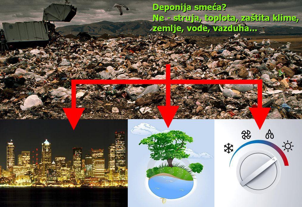 Prerada odpada sa deponija