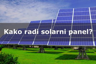 Kako radi solarni panel? Richard Komp