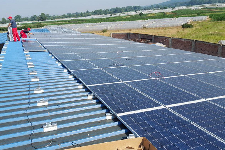 Mini solarna elektrana Gložane