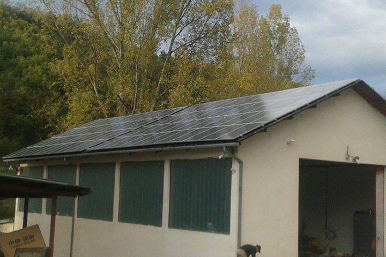 Mini solarna elektrana - Kovijaci