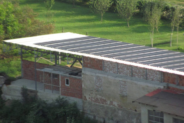 Solarna elektrana - Đorđević