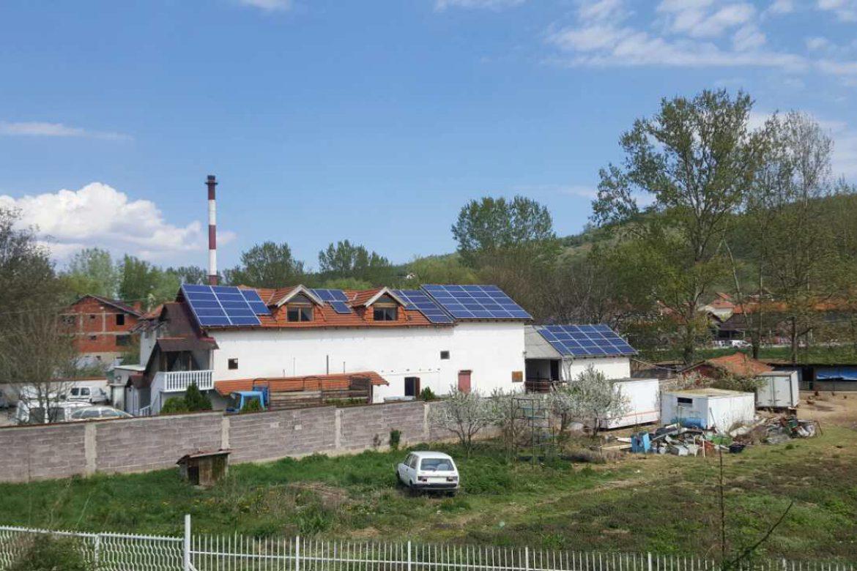 Klanica Vasić - Mini solarna elektrana