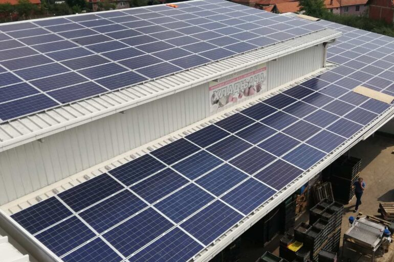 Solarna elektrana u okviru IPARD programa – Vule komerc d.o.o.